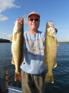 St. Louis Walleye fishing report