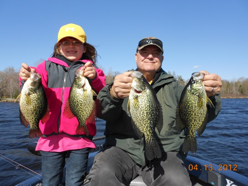 Crappie fishing wisconsin crappie fishing for Wi fishing season