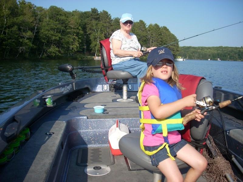 Grandma Doris - Wisconsin Fishing Guides