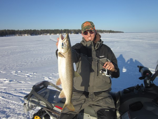 Wisconsin ice fishing report for Wi fishing report