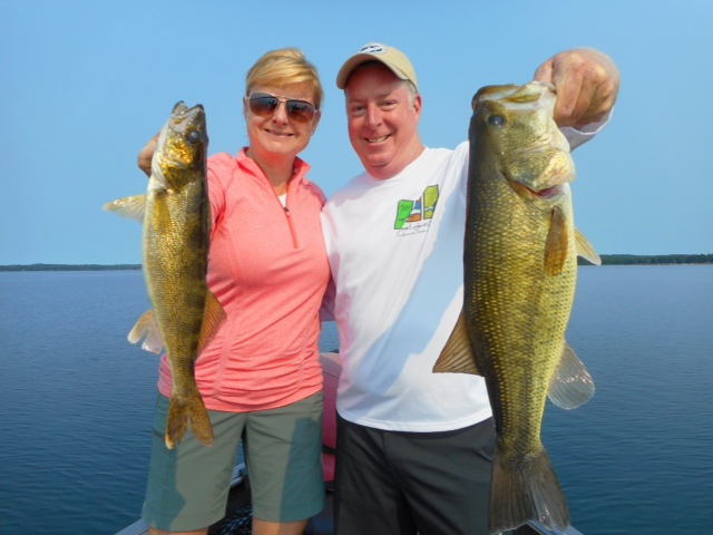 Wisconsin fishing report for Sally t fishing