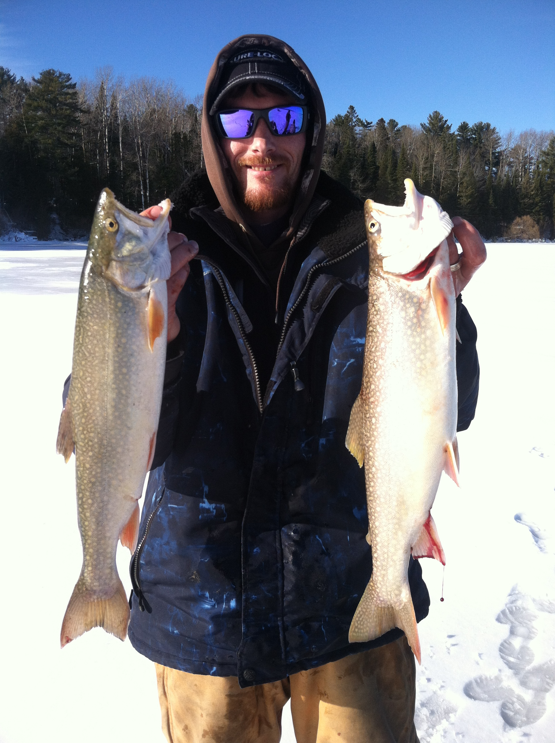 wisconsin ice fishing report