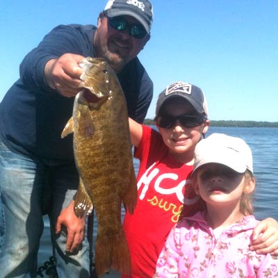 WI Fishing Guide Dave Brown